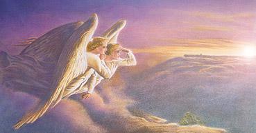 La mort viendra : experience avec un décédé Angels_right